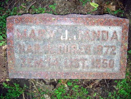 JANDA, MARY J. - Linn County, Iowa | MARY J. JANDA