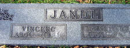 JANDL, FRANTISKA - Linn County, Iowa   FRANTISKA JANDL