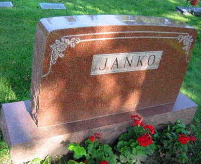 JANKO, FAMILY STONE - Linn County, Iowa | FAMILY STONE JANKO