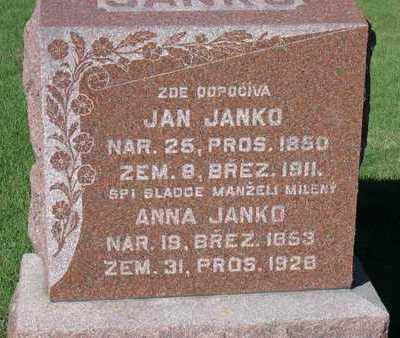 JANKO, JAN - Linn County, Iowa | JAN JANKO