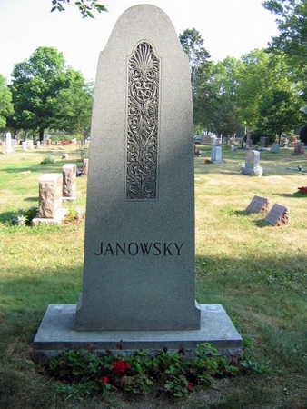 JANOWSKY, FAMILY STONE - Linn County, Iowa | FAMILY STONE JANOWSKY