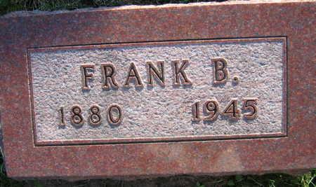 JANSA, FRANK  B. - Linn County, Iowa   FRANK  B. JANSA