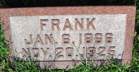 JANSA, FRANK - Linn County, Iowa | FRANK JANSA