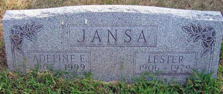 JANSA, LESTER - Linn County, Iowa | LESTER JANSA
