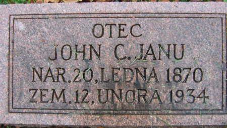 JANU, JOHN C. - Linn County, Iowa | JOHN C. JANU
