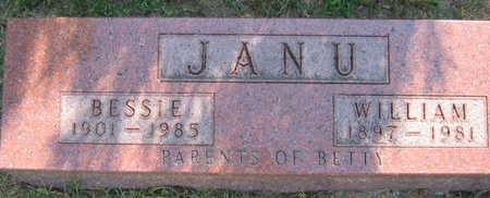 JANU, BESSIE - Linn County, Iowa   BESSIE JANU