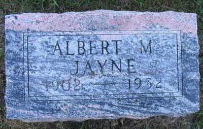 JAYNE, ALBERT M. - Linn County, Iowa | ALBERT M. JAYNE