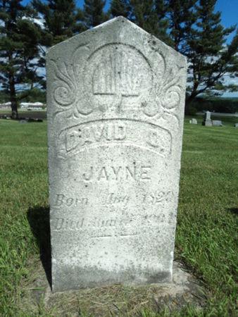 JAYNE, DAVID D - Linn County, Iowa | DAVID D JAYNE