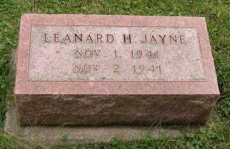 JAYNE, LEANARD H. - Linn County, Iowa | LEANARD H. JAYNE