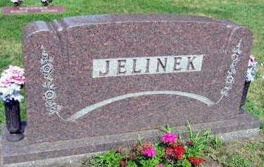 JELINEK, FAMILY STONE - Linn County, Iowa   FAMILY STONE JELINEK
