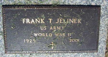 JELINEK, FRANK T. - Linn County, Iowa | FRANK T. JELINEK