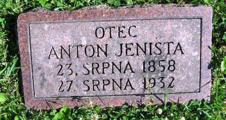 JENISTA, ANTON - Linn County, Iowa | ANTON JENISTA