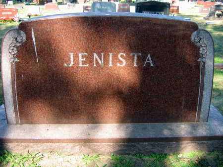 JENISTA, FAMILY STONE - Linn County, Iowa   FAMILY STONE JENISTA