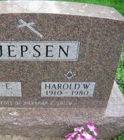 JEPSEN, HAROLD W. - Linn County, Iowa | HAROLD W. JEPSEN