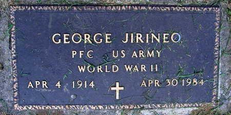 JIRINEO, GEORGE - Linn County, Iowa | GEORGE JIRINEO