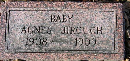 JIROUCH, AGNES - Linn County, Iowa | AGNES JIROUCH