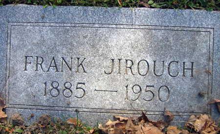JIROUCH, FRANK - Linn County, Iowa | FRANK JIROUCH