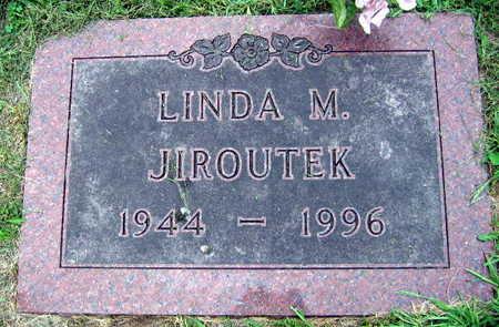 JIROUTEK, LINDA M. - Linn County, Iowa | LINDA M. JIROUTEK