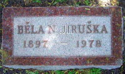 JIRUSKA, BELA N. - Linn County, Iowa | BELA N. JIRUSKA