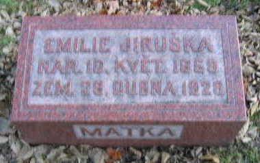 JIRUSKA, EMILIE - Linn County, Iowa | EMILIE JIRUSKA
