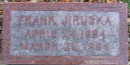 JIRUSKA, FRANK - Linn County, Iowa | FRANK JIRUSKA
