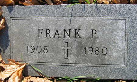 JOENS, FRANK P. - Linn County, Iowa | FRANK P. JOENS
