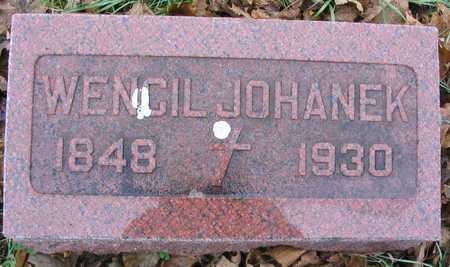 JOHANEK, WENCIL - Linn County, Iowa   WENCIL JOHANEK
