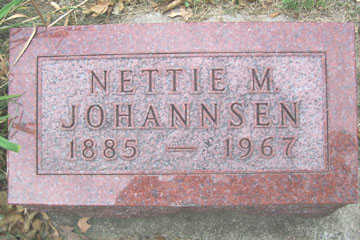 JOHANNSEN, NETTIE M. - Linn County, Iowa | NETTIE M. JOHANNSEN