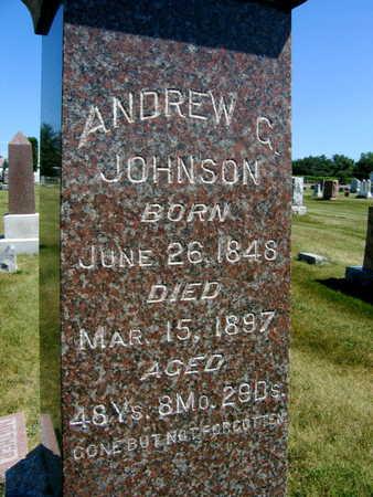 JOHNSON, ANDREW G. - Linn County, Iowa | ANDREW G. JOHNSON