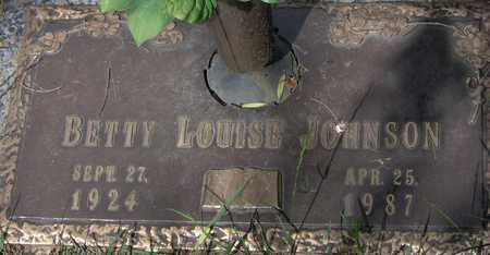 JOHNSON, BETTY LOUISE - Linn County, Iowa | BETTY LOUISE JOHNSON