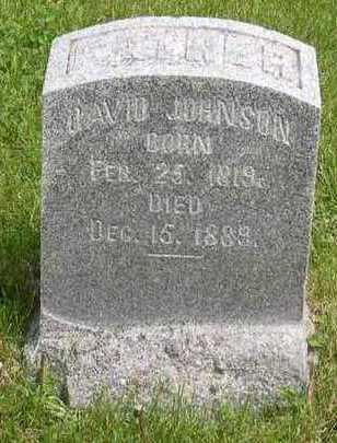 JOHNSON, DAVID - Linn County, Iowa   DAVID JOHNSON