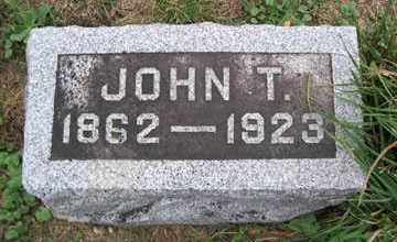 JOHNSON, JOHN T. - Linn County, Iowa | JOHN T. JOHNSON