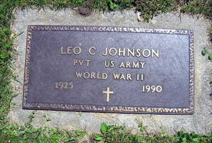 JOHNSON, LEO C. - Linn County, Iowa | LEO C. JOHNSON