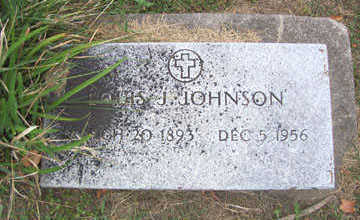 JOHNSON, LOUIS J. - Linn County, Iowa | LOUIS J. JOHNSON