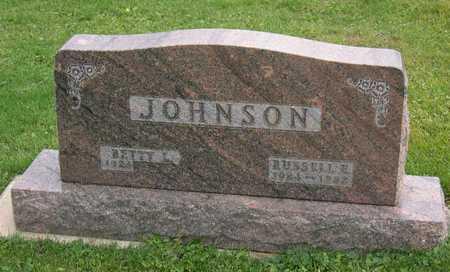 JOHNSON, RUSSELL E. - Linn County, Iowa   RUSSELL E. JOHNSON