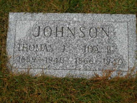 JOHNSON, THOMAS J. - Linn County, Iowa | THOMAS J. JOHNSON