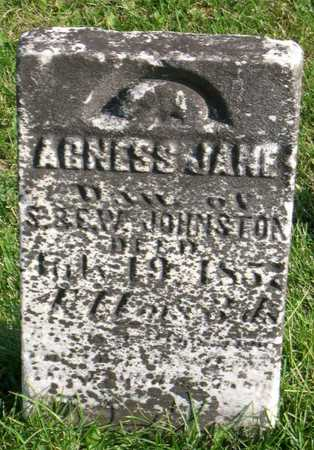 JOHNSTON, AGNESS JANE - Linn County, Iowa   AGNESS JANE JOHNSTON