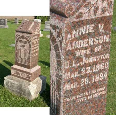 ANDERSON JOHNSTON, ANNIE V. - Linn County, Iowa | ANNIE V. ANDERSON JOHNSTON