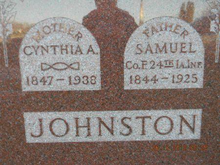 JOHNSTON, SAMUEL - Linn County, Iowa   SAMUEL JOHNSTON