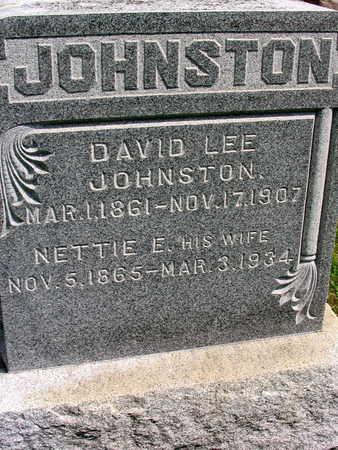JOHNSTON, NETTIE E. - Linn County, Iowa | NETTIE E. JOHNSTON