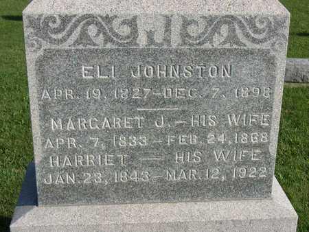JOHNSTON, HARRIET - Linn County, Iowa | HARRIET JOHNSTON