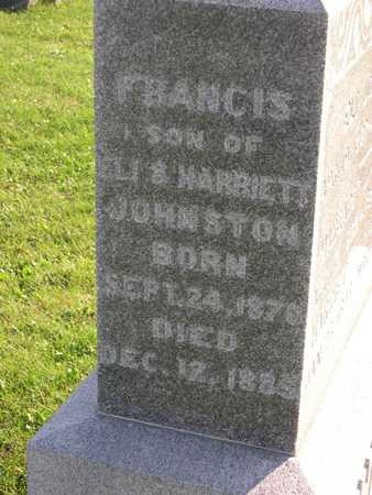 JOHNSTON, FRANCIS - Linn County, Iowa | FRANCIS JOHNSTON