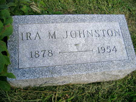 JOHNSTON, IRA M. - Linn County, Iowa   IRA M. JOHNSTON