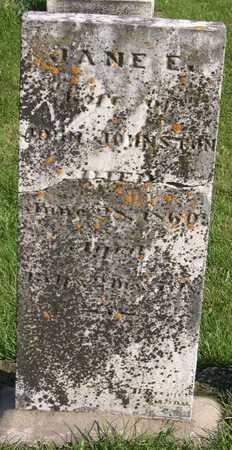 JOHNSTON, JANE E. - Linn County, Iowa | JANE E. JOHNSTON