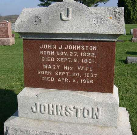 JOHNSTON, MARY - Linn County, Iowa | MARY JOHNSTON
