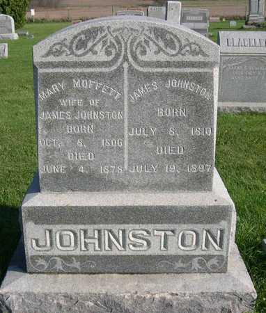 MOFFETT JOHNSTON, MARY - Linn County, Iowa | MARY MOFFETT JOHNSTON