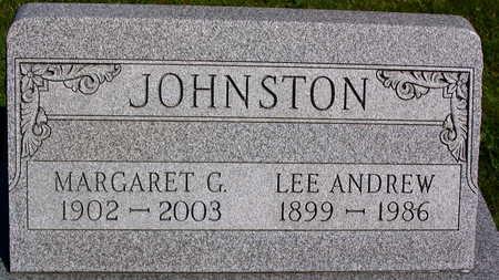 JOHNSTON, MARGARET G. - Linn County, Iowa | MARGARET G. JOHNSTON