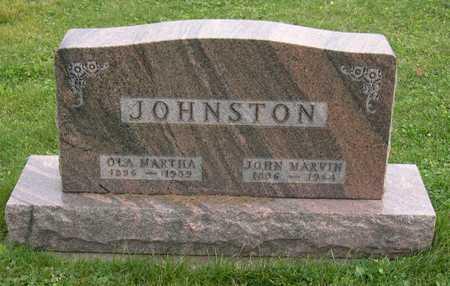 JOHNSTON, OLA MARTHA - Linn County, Iowa | OLA MARTHA JOHNSTON