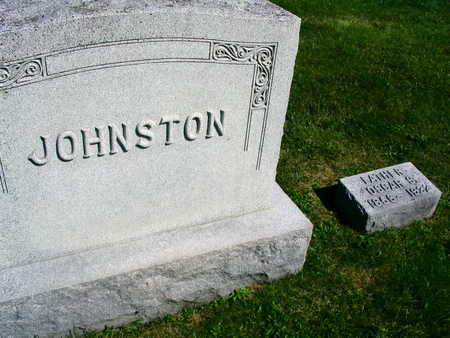 JOHNSTON, OSCAR S. - Linn County, Iowa | OSCAR S. JOHNSTON
