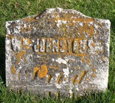 JOHNSTON, WM., SR. - Linn County, Iowa   WM., SR. JOHNSTON